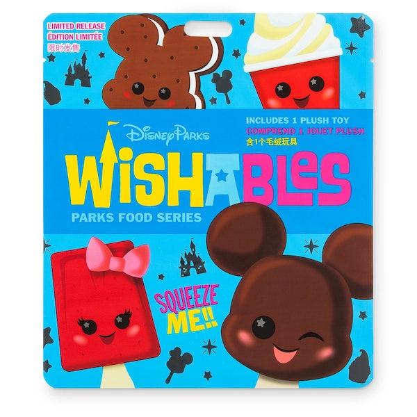 Disney Parks Wishables Mystery Plush - Parks Food Series