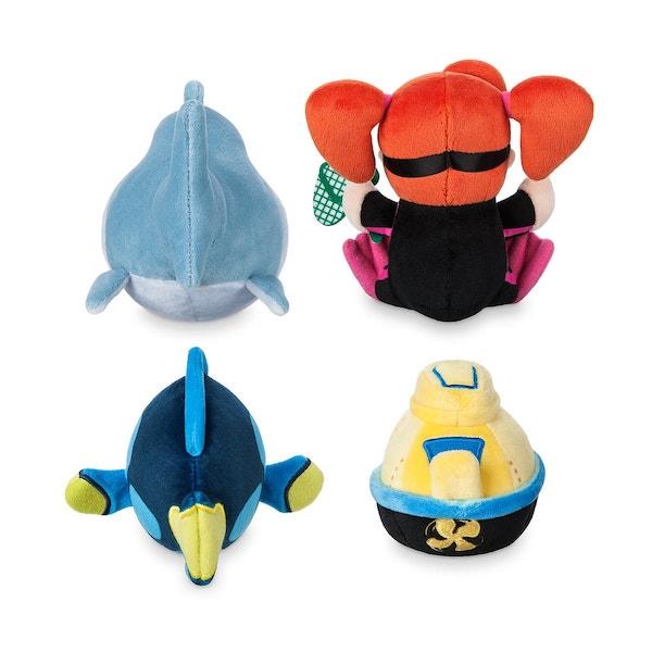 Back of Finding Nemo Submarine Voyage Disney Parks Wishables Plush