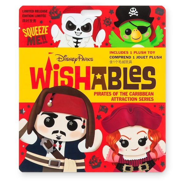 Pirates of the Caribbean Attraction Series Wishables Mystery Plush