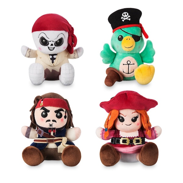 Pirates of the Caribbean Disney Parks Wishables Plush