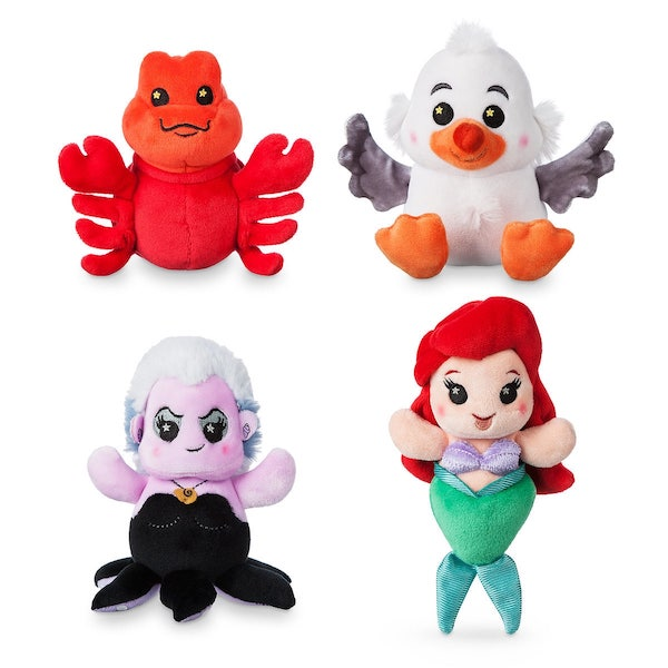 Ariel's Undersea Adventure Disney Parks Wishables Plush