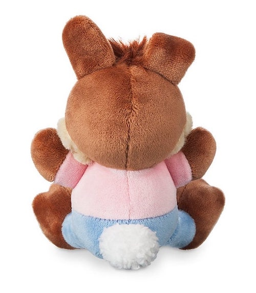 Back of Br'er Rabbit Disney Parks Wishables Plush