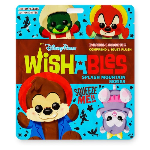 Splash Mountain Attraction Series Wishables Mystery Plush