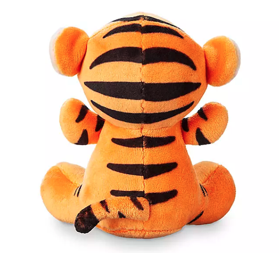 Back of Tigger Disney Parks Wishables Plush