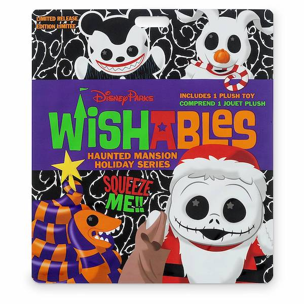 The Haunted Mansion Holiday Series Wishables Mystery Plush