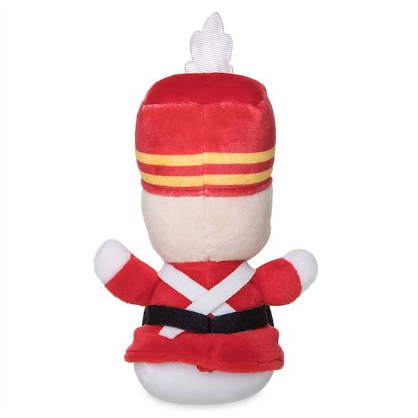Back of Toy Soldier Merry Christmas Disney Parks Wishables Plush