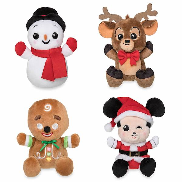 Merry Christmas 2019 Disney Parks Wishables Plush