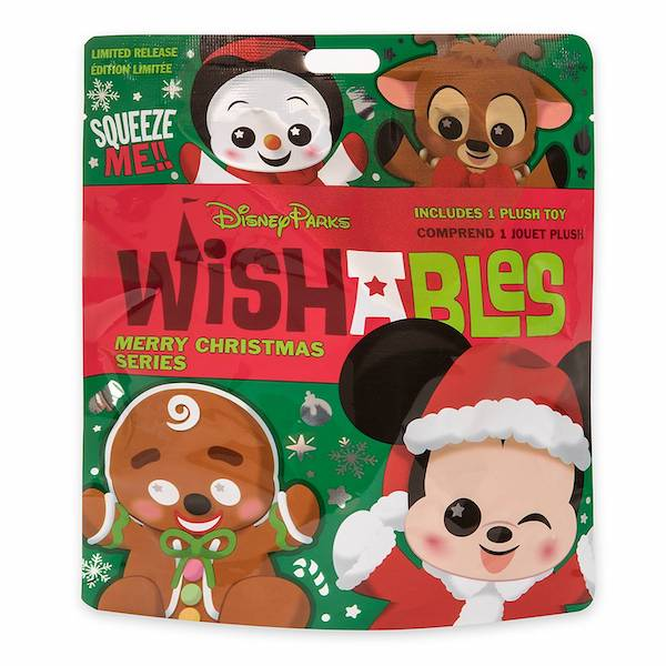 Merry Christmas Series Wishables Mystery Plush