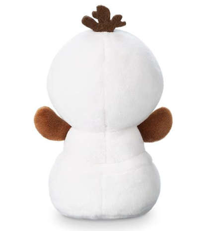 Back of Olaf Frozen Ever After Disney Parks Wishables Plush