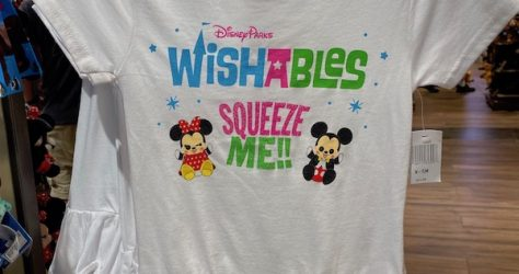 Disney Parks Wishables Girls Shirt