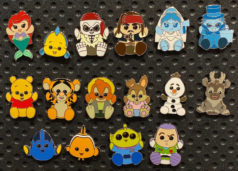 Disney Wishables Collectible Pin Pack