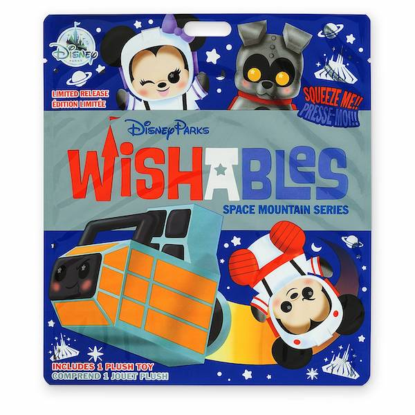 Space Mountain Series Wishables Mystery Plus