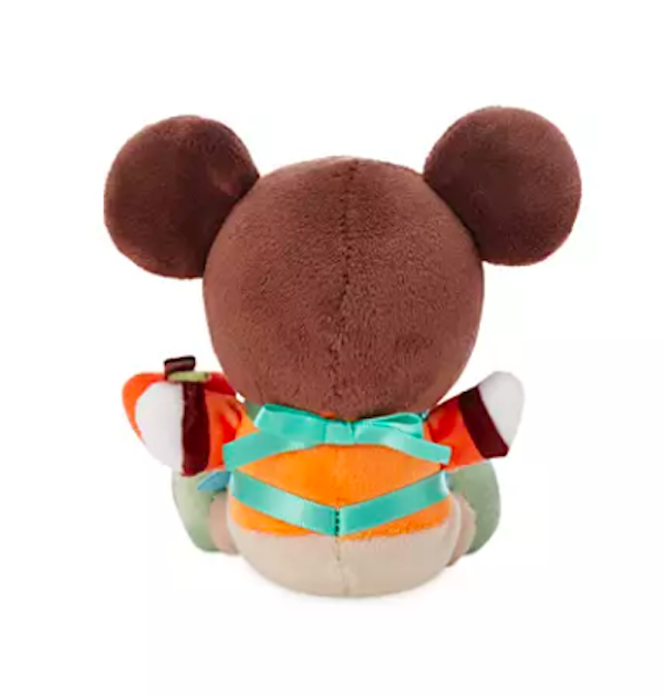 Back of Mickey Mouse - Epcot International Flower and Garden Festival 2020 Wishables Plush