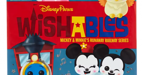 Here is a look at Mickey & Minnie's Runaway Railway Series Wishables Mystery Plush!