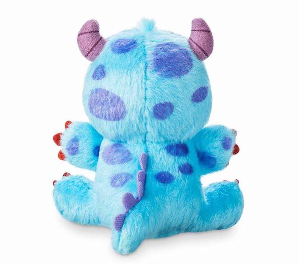 Back of Sulley Monsters, Inc. Disney Parks Wishables Plush