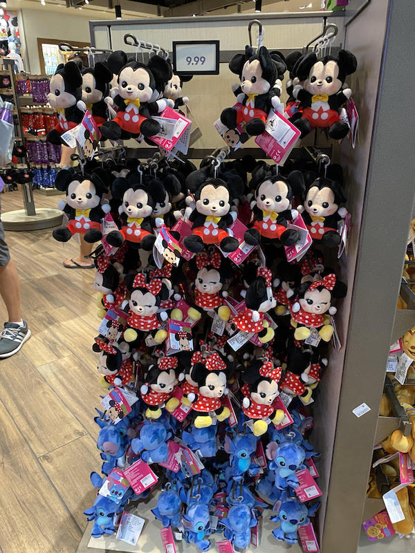 Current look at Wishables in World of Disney