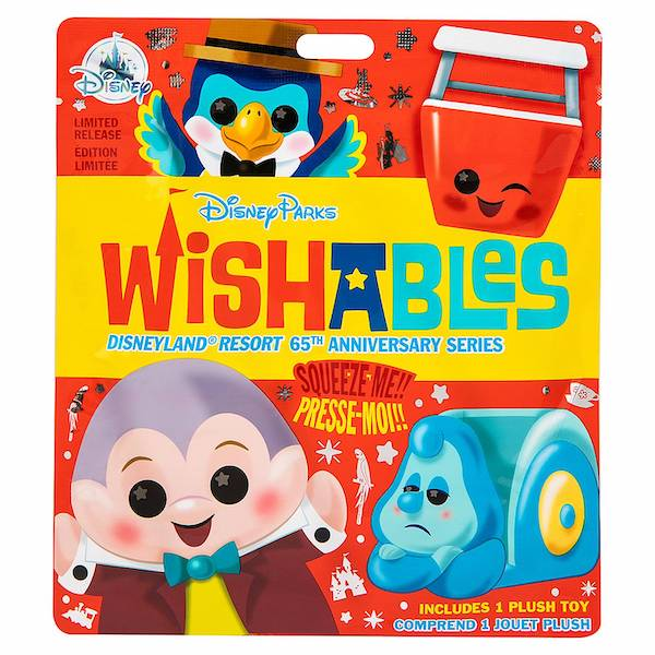 Disneyland 65th Anniversary Series Mystery Wishables Plush