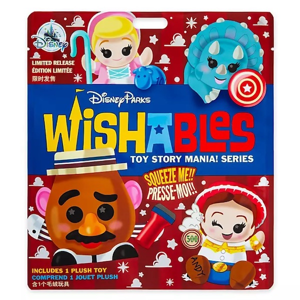 Toy Story Mania! Series Mystery Wishables Plush
