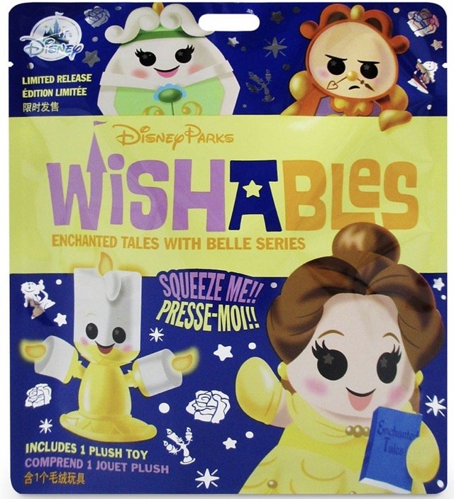 Beauty and the Beast Series Mystery Wishables Plush