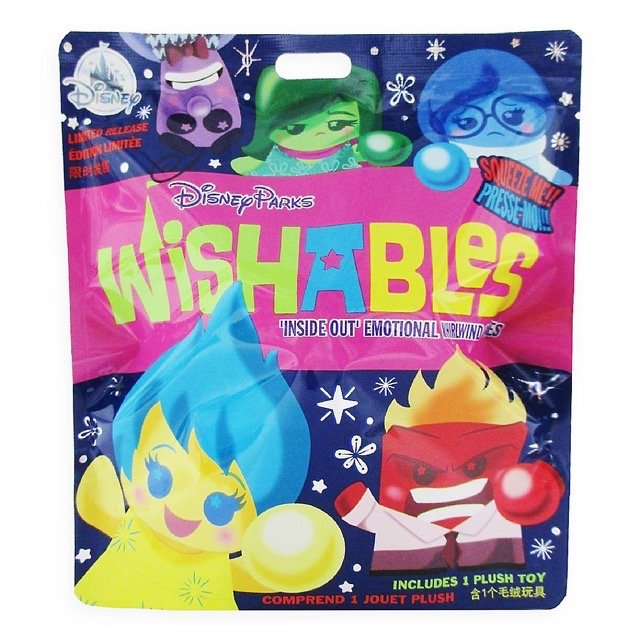 Inside Out Series Mystery Wishables Plush