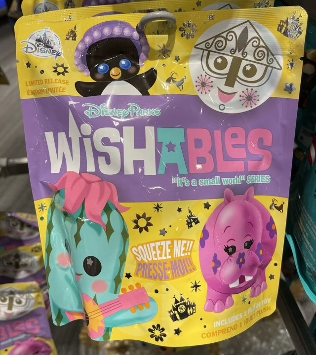 It's a small world Disney Parks Wishables Mystery Bag