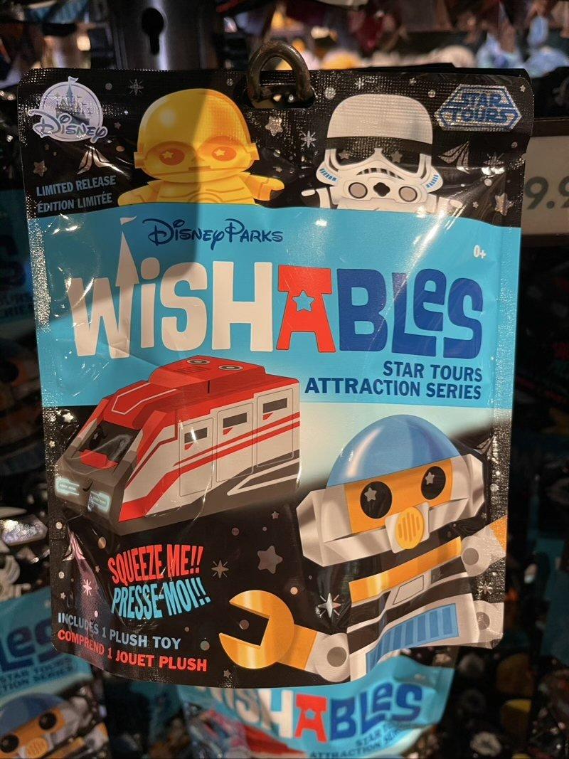 Star Tours Disney Parks Wishables Plush Mystery Bag